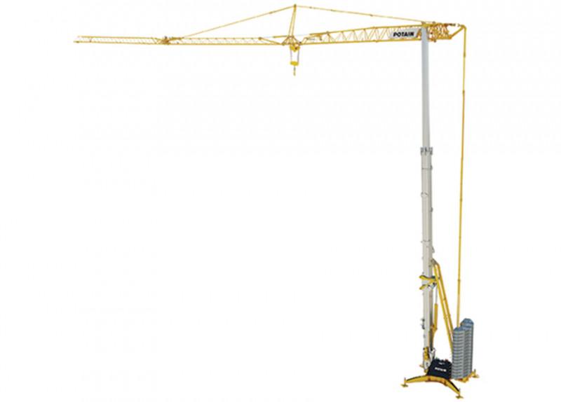 Potain Self-Erecting Tower Cranes - NZ Distributors | TRT