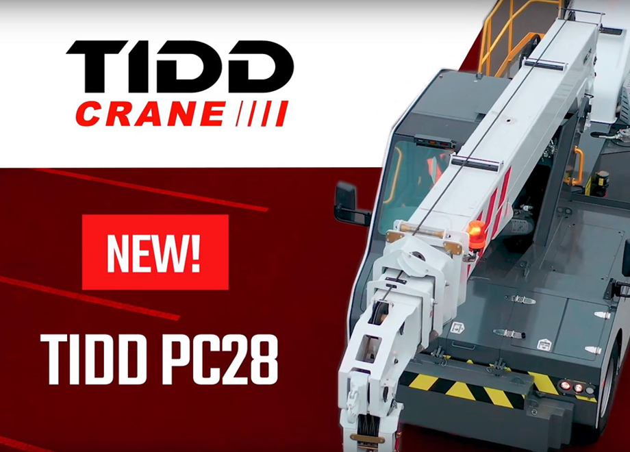TRT's latest crane, the TIDD PC28 is here!