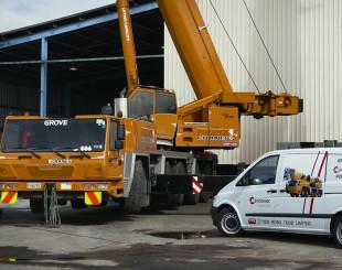 cranes  sale quality inspection  service trt