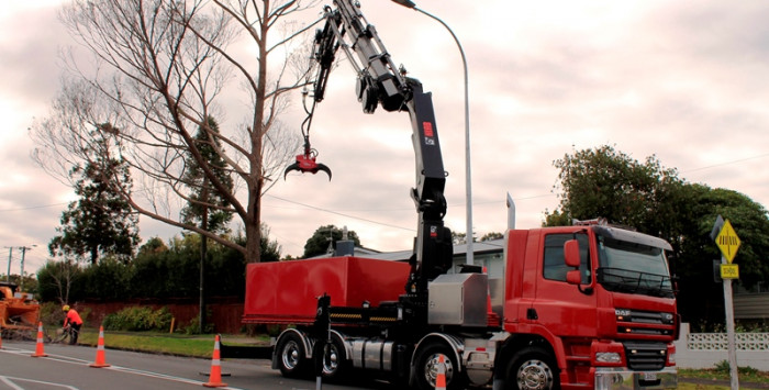 Hiab Installation