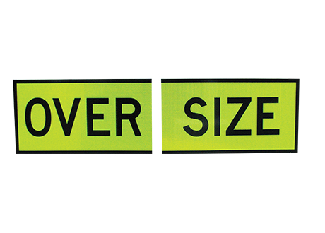 Accessories - Oversize Safety Sign AMS