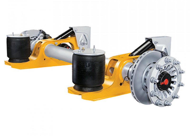 Air Suspension Truck And Trailer Axle And Suspension Trt