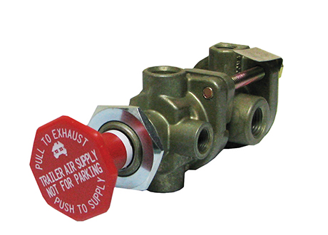 Truck Brake Controls - Push Pull Dash Valves