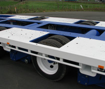 2.5 Wide Tri-axle Super Low Hydraulic