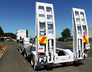 pembroke construction 3 x 8 low loader NZ