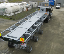 Tri axle with Electronic steering