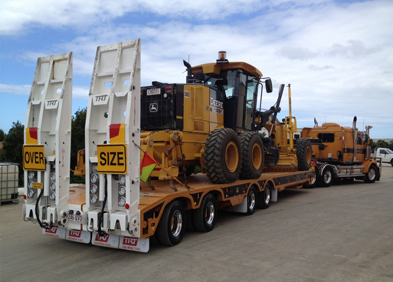 Quad Axle Trailer 4x4 Low Loader | Rows of 4 | Low Loaders | TRT