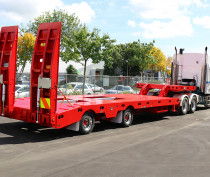 2x8 Fixed Width Low Loader