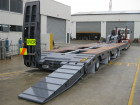 3x8 Fixed Width Low Loader with rear steer