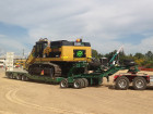 4x8 Swing Wing Widening Low Loader with Drop Well clear cut