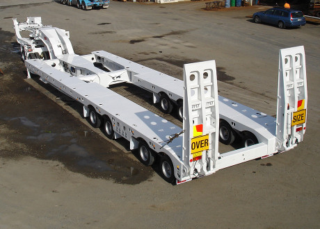 4x8 Swing Wing Widening Low Loader 4.2m wide clear cut
